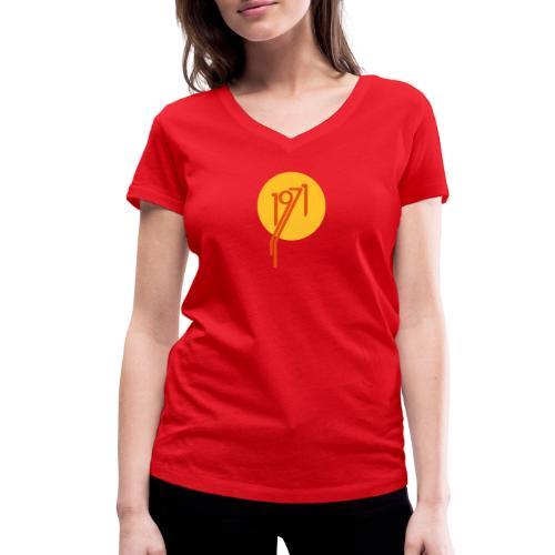 1971 Kreis vr - Frauen Bio-T-Shirt mit V-Ausschnitt von Stanley & Stella