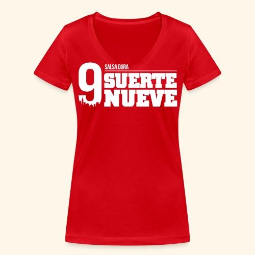 Logo Suerte - T-shirt bio col V Stanley & Stella Femme