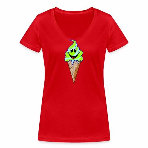 Mr./ Ms. Mint - Vrouwen bio T-shirt met V-hals van Stanley & Stella