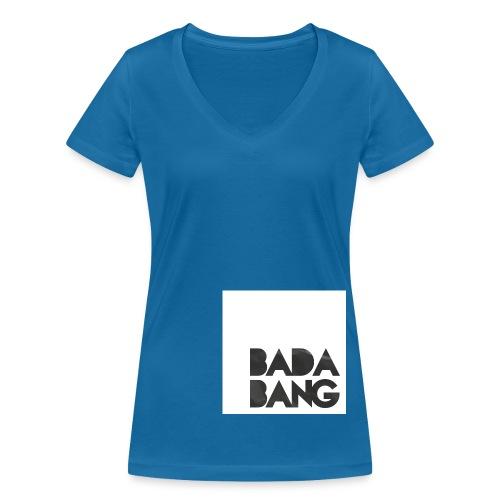 tshirt badabang - Frauen Bio-T-Shirt mit V-Ausschnitt von Stanley & Stella