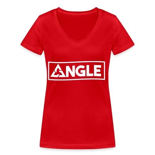 Angle Brand - T-shirt ecologica da donna con scollo a V di Stanley & Stella