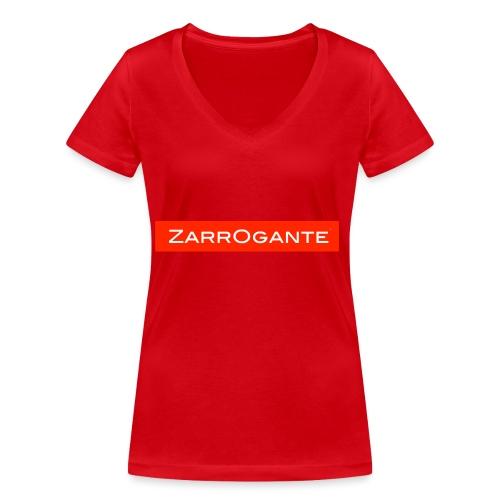 BasicLogoRed - T-shirt ecologica da donna con scollo a V di Stanley & Stella
