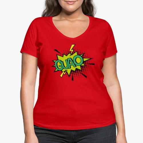 Serie de dibujos animados de los 80s - Camiseta ecológica mujer con cuello de pico de Stanley & Stella