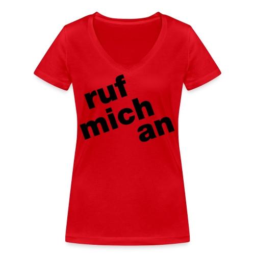 ruf - Frauen Bio-T-Shirt mit V-Ausschnitt von Stanley & Stella