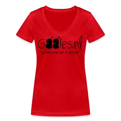 gaaies - Vrouwen bio T-shirt met V-hals van Stanley & Stella