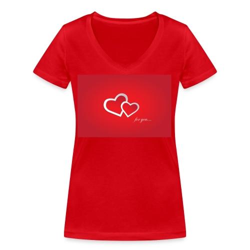 for you - Frauen Bio-T-Shirt mit V-Ausschnitt von Stanley & Stella