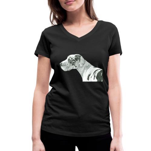 grand danios harlequin - Økologisk Stanley & Stella T-shirt med V-udskæring til damer