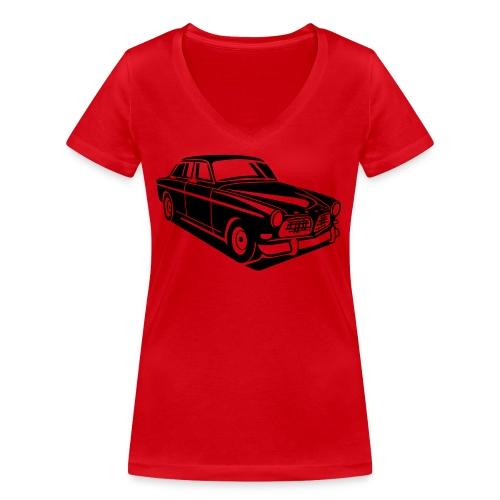 Volvo Amazon Volvoamazon - Frauen Bio-T-Shirt mit V-Ausschnitt von Stanley & Stella
