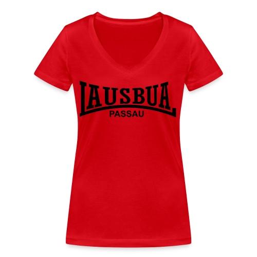 lausbua_passau - Frauen Bio-T-Shirt mit V-Ausschnitt von Stanley & Stella