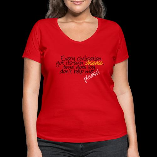 dis–ease - Frauen Bio-T-Shirt mit V-Ausschnitt von Stanley & Stella