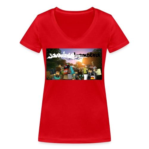 6057231244D88B5F5DED63C6F58FB0122038CBC7A63A50B55 - Women's Organic V-Neck T-Shirt by Stanley & Stella