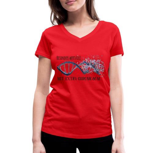 Besonders Wertvoll! - Frauen Bio-T-Shirt mit V-Ausschnitt von Stanley & Stella
