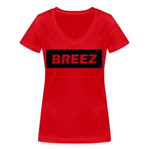 Breez Identity II - Økologisk Stanley & Stella T-shirt med V-udskæring til damer