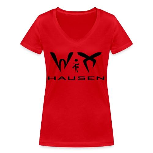 wixhausen - Frauen Bio-T-Shirt mit V-Ausschnitt von Stanley & Stella