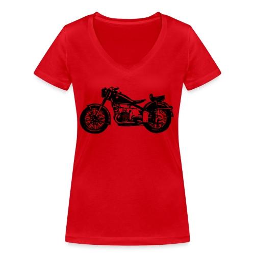 Condor A580 - Frauen Bio-T-Shirt mit V-Ausschnitt von Stanley & Stella