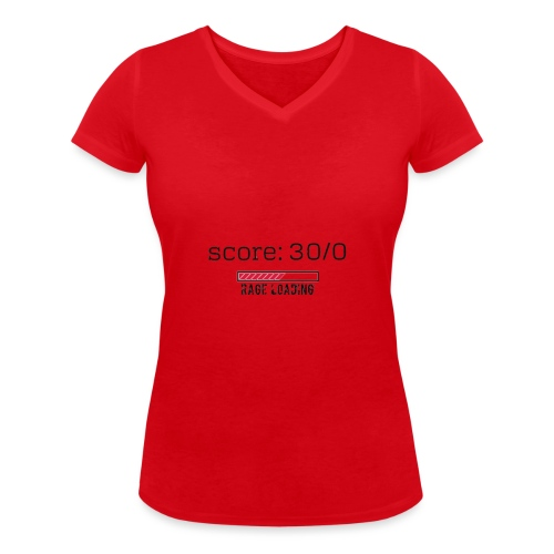 rage - T-shirt bio col V Stanley & Stella Femme