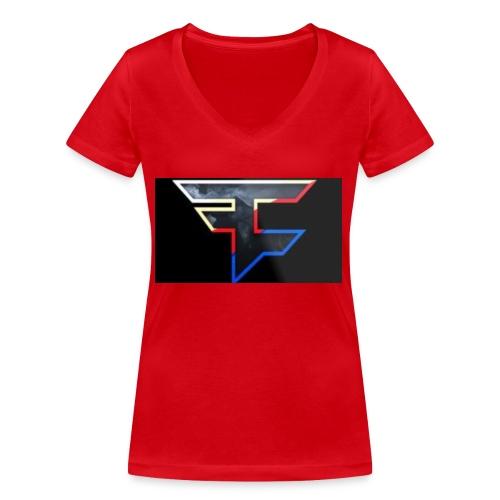 FAZEDREAM - Women's Organic V-Neck T-Shirt by Stanley & Stella