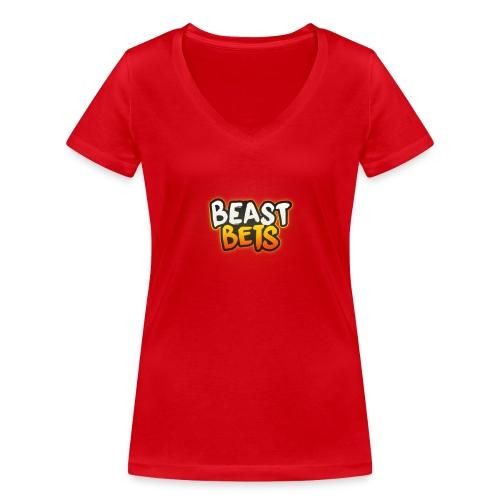 BeastBets - Økologisk Stanley & Stella T-shirt med V-udskæring til damer
