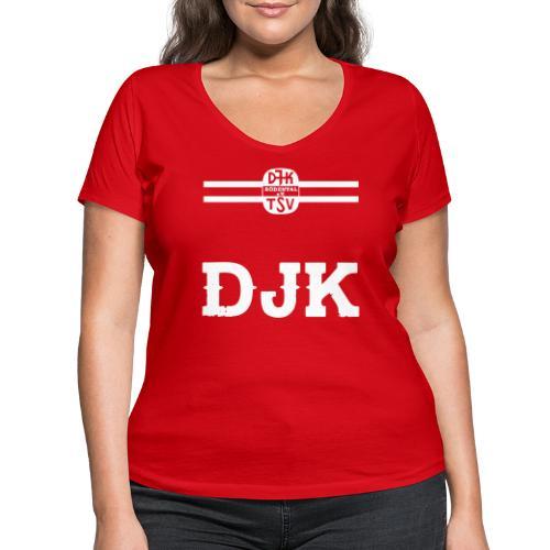 DJK BRUSTRING - Frauen Bio-T-Shirt mit V-Ausschnitt von Stanley & Stella