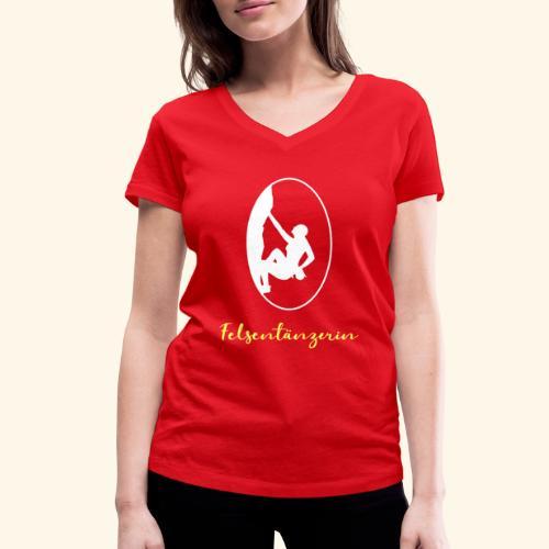 Felstaenzerin - Frauen Bio-T-Shirt mit V-Ausschnitt von Stanley & Stella