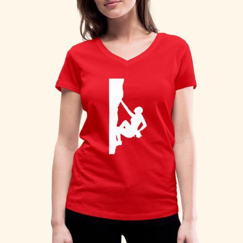 Frauenversion 1 - Frauen Bio-T-Shirt mit V-Ausschnitt von Stanley & Stella