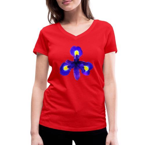 TIAN GREEN Garten - Iris 2020 01 - Frauen Bio-T-Shirt mit V-Ausschnitt von Stanley & Stella