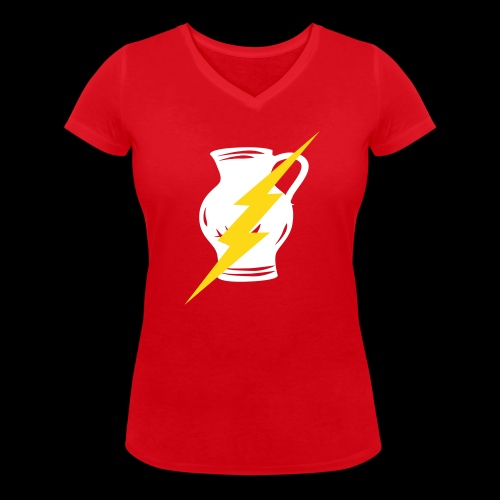 Bembel - Frauen Bio-T-Shirt mit V-Ausschnitt von Stanley & Stella