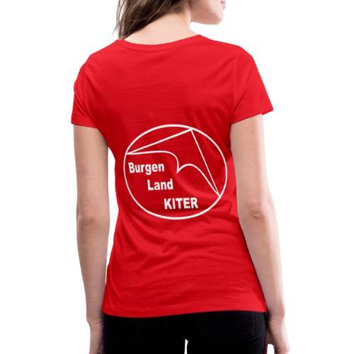 KITER LOGO BLK - Frauen Bio-T-Shirt mit V-Ausschnitt von Stanley & Stella