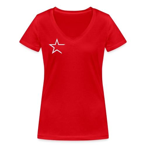 Team Kleding - Vrouwen bio T-shirt met V-hals van Stanley & Stella