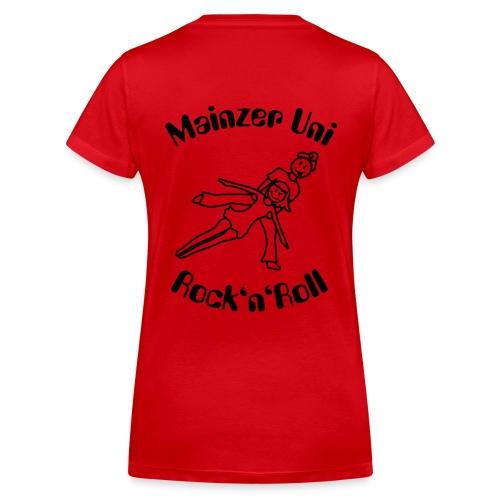 MainzerUniRnR Antonia - Frauen Bio-T-Shirt mit V-Ausschnitt von Stanley & Stella
