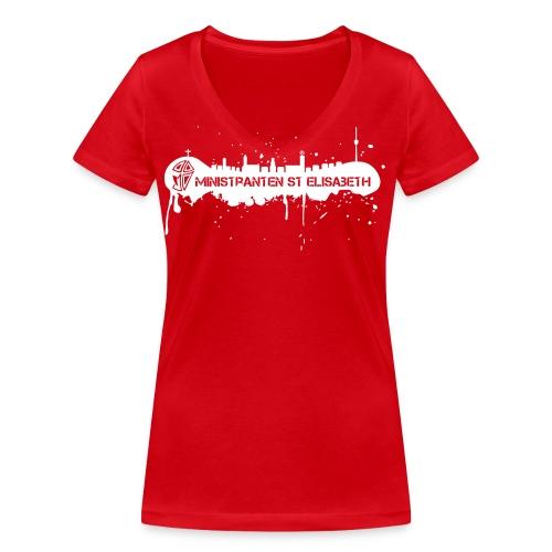 front NEU 1112 - Frauen Bio-T-Shirt mit V-Ausschnitt von Stanley & Stella