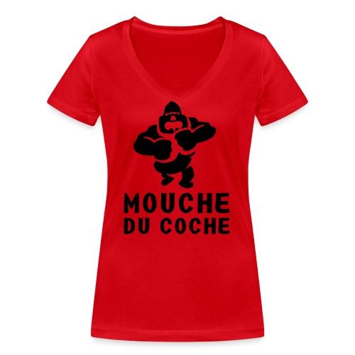 Wichtigtuer - Frauen Bio-T-Shirt mit V-Ausschnitt von Stanley & Stella