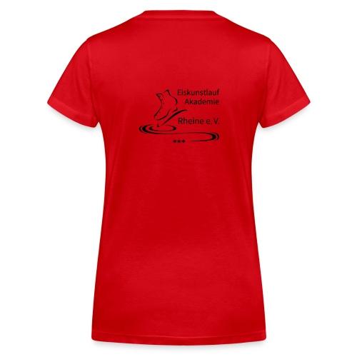EARheine Logo schwarz - Frauen Bio-T-Shirt mit V-Ausschnitt von Stanley & Stella