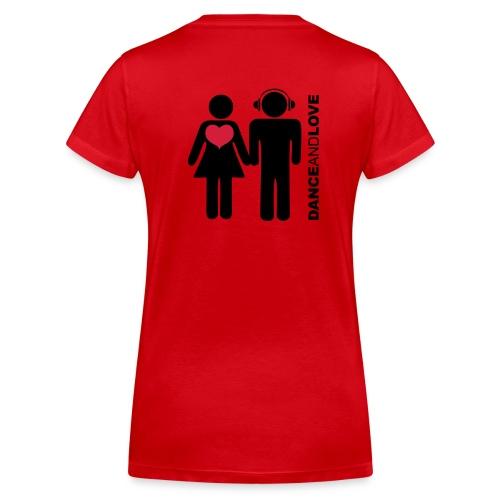 dnl800x600 02 - T-shirt ecologica da donna con scollo a V di Stanley & Stella