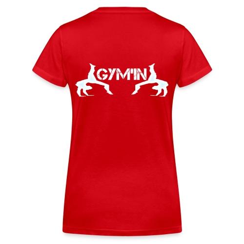 gym'n design - T-shirt bio col V Stanley & Stella Femme