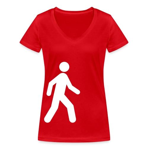 Maskottchen - Frauen Bio-T-Shirt mit V-Ausschnitt von Stanley & Stella