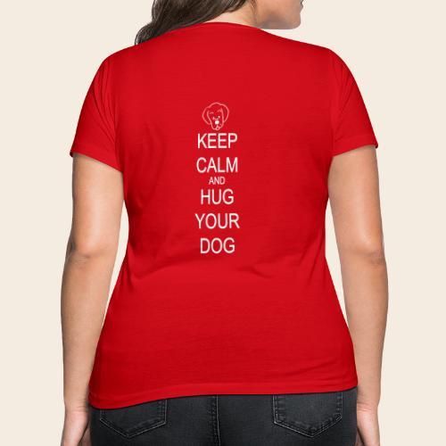 embrasse ton chien - T-shirt bio col V Stanley & Stella Femme