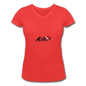 Collezione Natale - Women's Organic V-Neck T-Shirt by Stanley & Stella