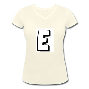 Itz Ethan's Merch - Women's Organic V-Neck T-Shirt by Stanley & Stella