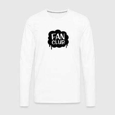 Fan Club - Koszulka męska Premium z długim rękawem