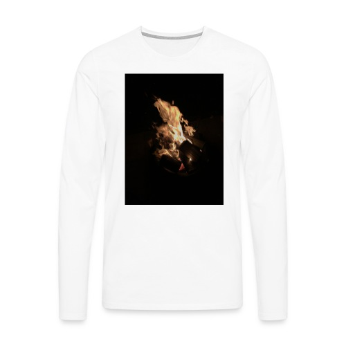 Bonfire Print - Men's Premium Longsleeve Shirt
