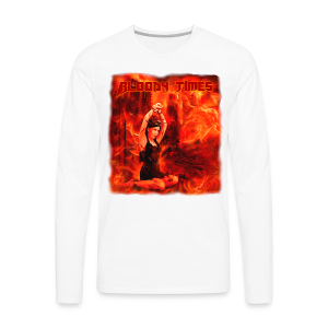 Bloody Times - The Fire of Immortality - Men's Premium Longsleeve Shirt