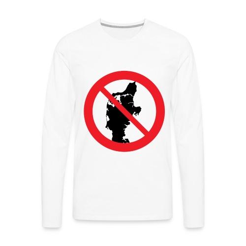 Jylland forbudt - Bestsellere - Herre premium T-shirt med lange ærmer