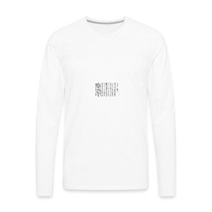 Irish proclamation - Men's Premium Longsleeve Shirt