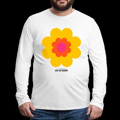 BIG SUNSHINE - Miesten premium pitkähihainen t-paita