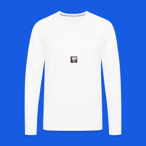 Low power need refill - Herre premium T-shirt med lange ærmer
