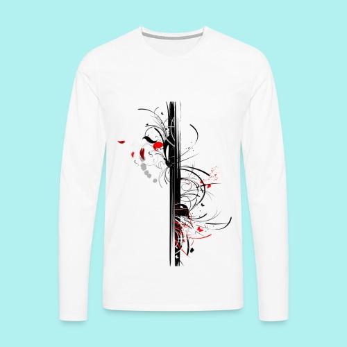 Papillonade - T-shirt manches longues Premium Homme