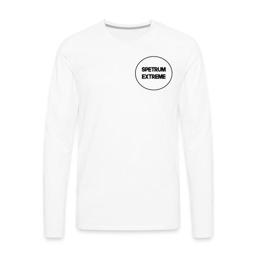 Front White Long Sleve - Men's Premium Longsleeve Shirt