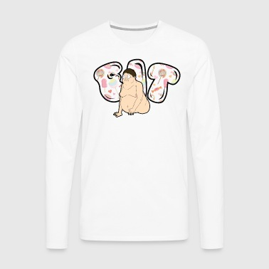 FIT - Koszulka męska Premium z długim rękawem