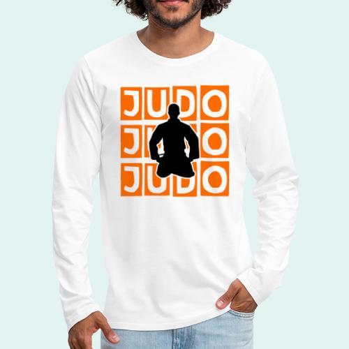 Motiv Judo Orange - Männer Premium Langarmshirt